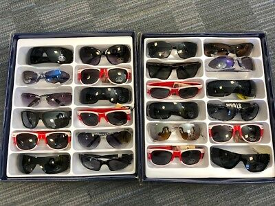Job Lot 24 pairs of assorted sunglasses - Car Boot - Resale - Wholesale - REF113