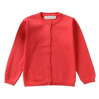 Cute Baby Boy Girl Warm Winter Cotton Knitted Sweater Soft Cardigan Casual Coat