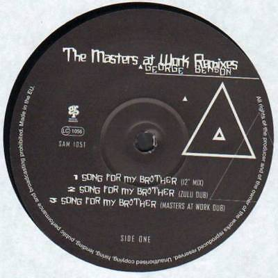 """12"""": George Benson - Song For My Brother / Baby I'm In Love... (The Masters At W"""