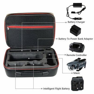 Waterproof Hardshell(PVC) Portable Carry Case Storage Bag For DJI Mavic Pro