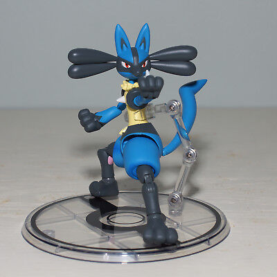 S.H.Figuarts Pokemon LUCARIO Action Figure Bandai TAMASHII NATIONS D-ARTs Video