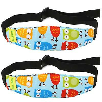 Toddler Car Seat Infants And Baby Head Support Neck Sleep Relief Strap 2 Pack