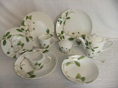 C4 Porcelain Queens Dining Sanderson Fine China - Sweet Bay - 3F1B
