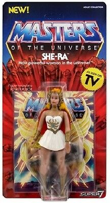 Auspacker# SHE RA Neo Vintage SUPER 7 WAVE MOTU CLASSICS Masters of the Universe