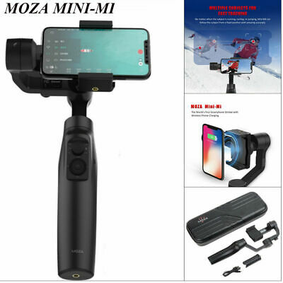 Moza Mini-Mi 3-Axis Handheld Gimbal Stabilizer Wireless Smartphone Chargeable