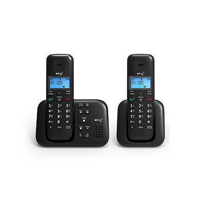 BT 3960 Twin Digital Cordless Phone With Answer Machine - New DB LIMITED STOCK