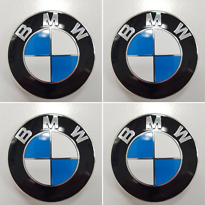 Genuine BMW Alloy Wheel Centre Caps Chrome (SET OF 4) - 36136783536