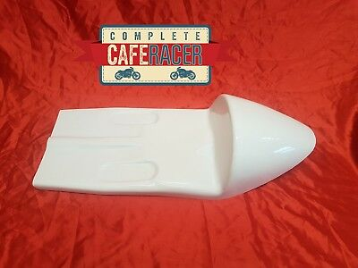 Cafe Racer Fibreglass Seat New & Unused Narley Style In White