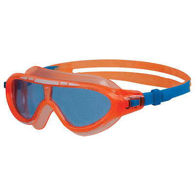 New Speedo Rift Junior Swimming Mask Goggles Pink Yellow & Orange Blue Anti Fog
