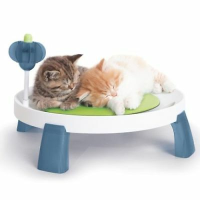 New CAT IT Senses Comfort Zone Elevated Cat Kitten Bed Cool Cushion & Massage
