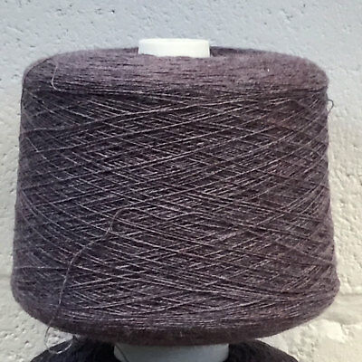 Shetland Weaving Yarn - Colour Lobelia - various cone weights