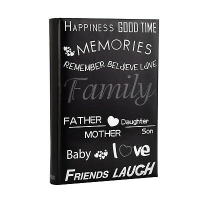 Large Slip In Case Book-bound Memo Photo Album for 300 photos 6x4''/ 10x15 cm