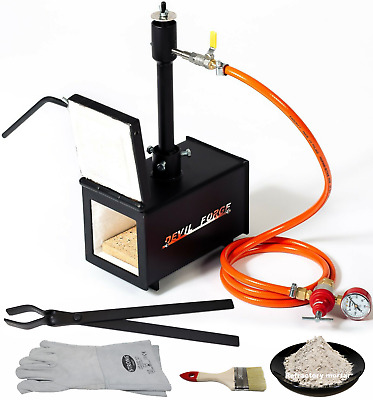 DFPROF1+1D Propane Forge Knifemaking Farriers Blacksmiths Furnace Burner U.S.A
