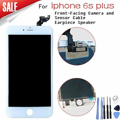 For iPhone 6s Plus White Front LCD Touch Digitizer Display Assembly Replacement