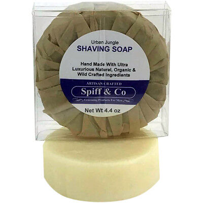 Shaving Soap Puck Urban Jungle Shaving Soap Refill 4.4oz By Spiff And Co