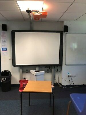 Promethean Interactive Board ABV378Pro Projector and motorised adjustable Stand