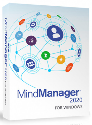 Mindmanager 2019 - Official Site Download + License 6 PC's QuickDelivery