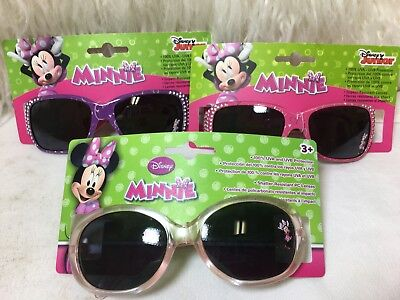 Disney Junior Minnie Mouse 100% Protection Girls Kids Sunglasses Style Choice
