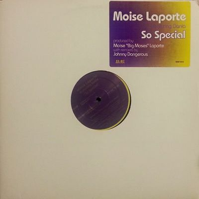 "12"": Moise Laporte Featuring Dania - So Special - 11:07 Presentations - BMP 1004"