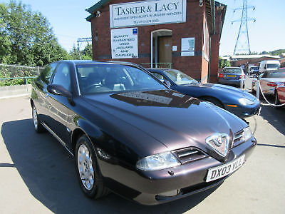 2003 Alfa Romeo 166 2.0 Twin Spark Finished In Met Black With Black Leather