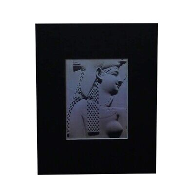 3D Egyptian Queen (Achromate) Hologram Picture MATTED, EMBOSSED Type Film