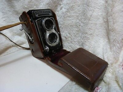 Rolleiflex f3.5 T   with 75 mm. Carl Zeiss Tesser  lens  Working condition