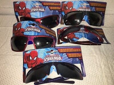 Marvel Ultimate Spiderman Kids Boys Sunglasses 100% Protection Color & Styles