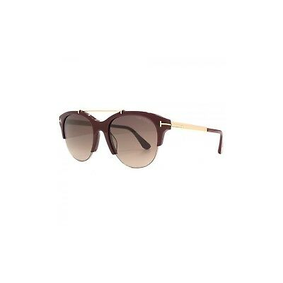 69t Tf517 Burgundygold Adrenne 55mm Sunglasses Oval Ft0517 Tom Ford lK1cuJ3TF
