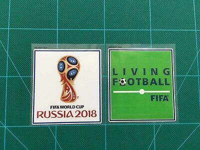 FIFA World Cup Russia 2018 & Living Football Sleeve Patches/Badges