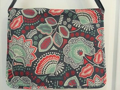 f91afe51cde NEW VERA BRADLEY NOMADIC FLORAL LIGHTEN UP Messenger Bag - Laptop Tote  School -  74.99   PicClick