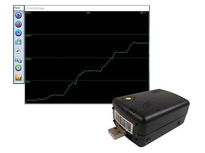 0~+25V Low Cost 8 Bit High Speed Voltage Data Logger USB Data Acquisition System