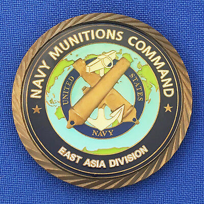 US Navy Munitions Command East Asia Division NMC EAD USN Hawaii Challenge Coin
