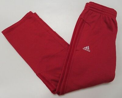 dc5b7fbe28f4 ADIDAS MENS SMALL Climawarm Red Athletic Pants Sweatpants -  14.99 ...