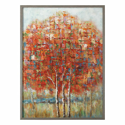 Uttermost Autumn View Wood And Canvas Wall Art 42516