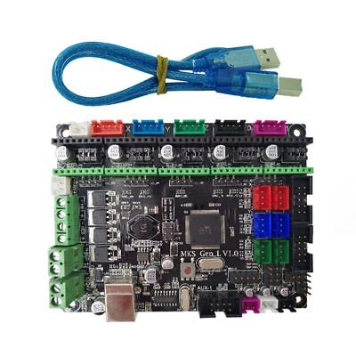 MKS Gen L V1.0 controller PCB board integrated mainboard compatible Ramps1. F2O4