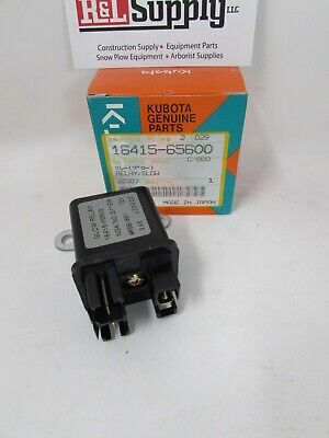 New Genuine Kubota Glow Plug Relay 16415-65600 D722 D902 D905 D1105 V3300