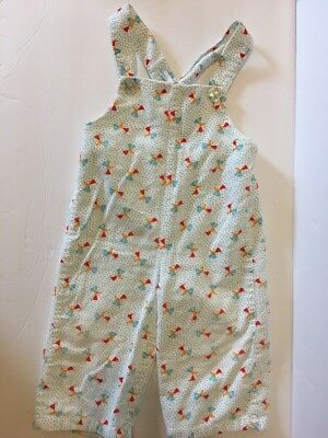 Vintage 60's Baby Toddler Boys Overalls Dogs Magic Years