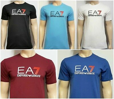 Emporio Armani EA7 mens T-Shirt ,crew neck Short Sleeve.cotton. size:S M L XL 2X