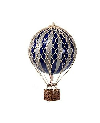 Authentic Models Royal Aero Christmas Hot Air Balloon In Navy & Silver Ap160sn