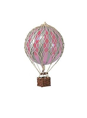 Authentic Models Royal Aero Christmas Hot Air Balloon In Pink & Silver Ap160sp