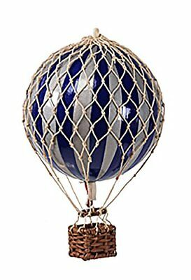 Authentic Models Travels Light Hot Air Balloon In Navy And Silver  Ap161sn