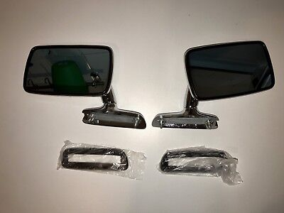 BMW E3 E9 E10 E12 E21 2002ti tii 1602 1802 02 Side Mirror Wing Mirrors