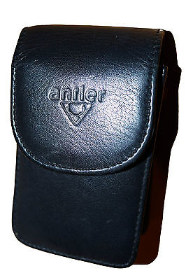Antler Premium Leather Camera Case - Black