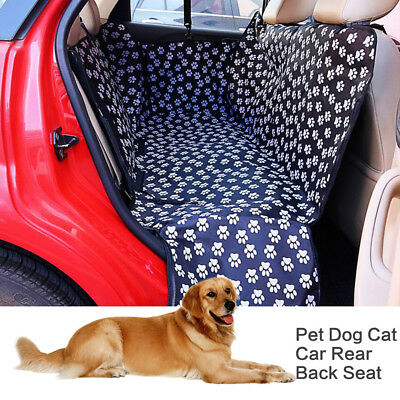Portable Pet Dog Cat Car RearBack Seat Carrier Cover Mat Blanket Hammock Cushion