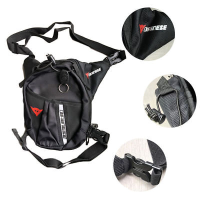 Waterproof Motorcycle Black Leg Bag Tank Pack Pocket Mountaineering Outdoor Bag