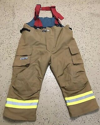 Fire Dex Firefighter Suits: Fire Turnout Pants Bunker Gear 46/26 07/2008 NEW