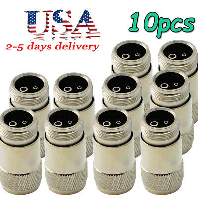 10pcs New Dental High Speed Handpiece Adapter holes changer 4 to 2 Hole M4 to B2