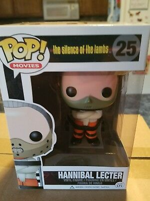 Funko Pop Movies Silence Of The Lambs Hannibal Lecter Vinyl Action Figure Toy
