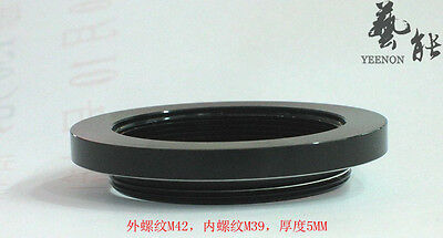 M39 - M42 with 5 mm flange adapter ring(M39-M42)