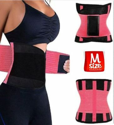 3a4f6532f8 WAIST TRAINER BELT Slimming Body Support Shaper Cincher Trimmer Corset Size  M -  12.97